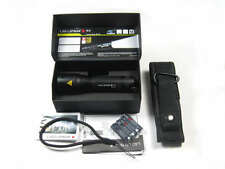 NEW hotsale Cree Led Lenser P7 200LM  zoom focus camping torch flashlight in box
