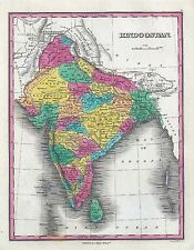65 maps INDIA INDIAN history VILLAGES towns antique GENEALOGY old HINDUSTAN DVD