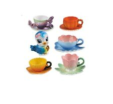 RE-MENT Fairy Tale Tableware #5- Blue Bird Tea, 1:6 Barbie sized kitchen minis