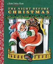 The Night Before Christmas Little Golden Book