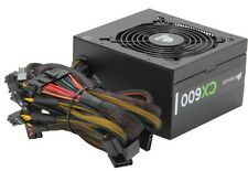 CORSAIR CX600 600W ATX12V v2.3 80 PLUS BRONZE PFC Power Supply New!