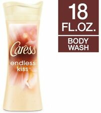 Caress Endless Kiss Creamy Vanilla and Sandalwood Body Wash, 18 Oz