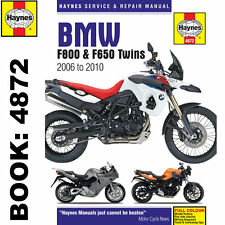 BMW F800 F650 F700 Twins inc Adv 2006-15 Haynes Workshop Manual