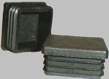 5x Lamellenstopfen für Kantrohr 80x80 Kappen für Torpfosten