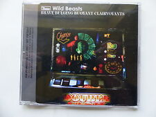 CD Single Promo WILD BEASTS Brave bulging buoyant clairvoyants RUG300CDP