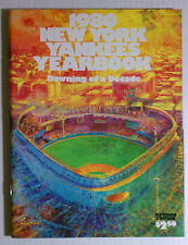 NEW YORK YANKEES 1980 OFFICIAL YEARBOOK MINT VINTAGE MLB WINDFIELD