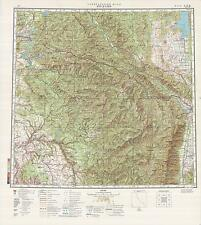 Russian Soviet Military Topographic Maps - COUR D'ALENE (USA), 1:500000, ed.1982