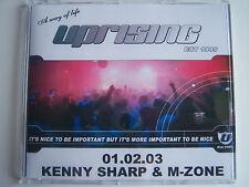UPRISING   01.02.03 - KENNY SHARP & M-ZONE - 8TH BIRTHDAY CD