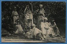 CPA: MISSOUR (Maroc) - Kssouriens à l'intérieur de leurs jardin à IGLI