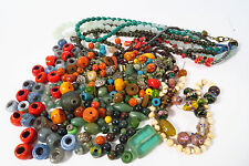 Lot Glasperlen 685gr. Konvolut Indien India Beads Afrozip