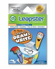 NEW LeapFrog Leapster Learning Games - Mr Pencil's Learn to Draw & Write