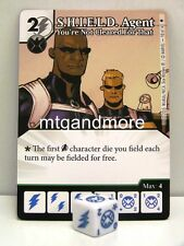 Marvel Dice Masters - #098 le shield agent you 're not cleared for that-Age