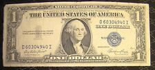 United States 1 One Dollar Blue Seal Silver Certificate 1935 E D 60304940 I Bill
