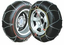 Car Snow Chains - Polar 9mm Easy Fit Winter Driving Pair - See Below For Sizes