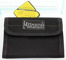 MAXPEDITION MX9850 HARD USE GEAR EDC DOUBLE FOLD PROMO TACTICAL WALLET BLACK