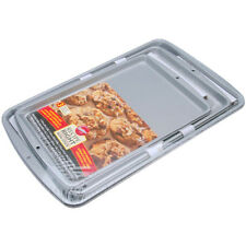 Bakeware Set Baking Pan Cake 3 Piece Non Stick Cookie Sheet Oven Muffin NEW