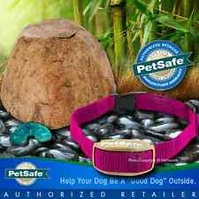 PetSafe Pawz Away Pet Rock Barrier Flower Outdoor Garden Dog System PWF00-11923