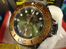 Invicta 22852 Reserve Green 50mm Grand Diver Swiss Auto SW200 Bracelet Watch NEW