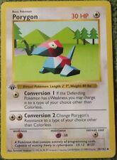 Porygon 39/102 1st Ed First Edition Base Set Pokemon Card NM/Mint/Pack Fresh