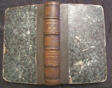 Honoré de Balzac etudes analytiques phisiologie du mariage michel levy fr. 1868