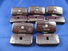 LOT OF 5 - LEVITON BROWN , IN-LINE-SPT-2 ROTARY SWITCHES, 6 AMPS @ 125V