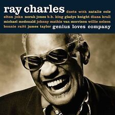 Genius Loves Company Ray Charles Enhanced CD BB King Morrison Elton John Raitt