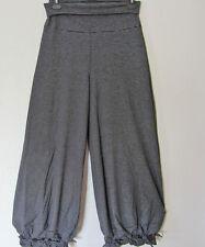 BORIS INDUSTRIES  Lagenlook Hose Knoten Baumwolle schwarz Streifen 40-42 (1)