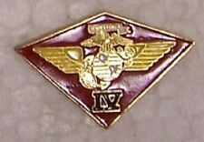 Hat Lapel Push Tie Tac Pin 4th Marine Air Wing USMC NEW