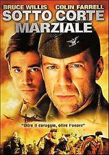 Dvd SOTTO CORTE MARZIALE - (2002) Bruce Willis ......NUOVO