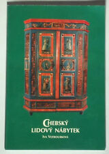 BOOK Czech Folk Furniture Cheb Bohemian painted peasant art wardrobe folk design