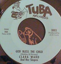 Crossover Soul Gospel 45 Clara Ward Bless the child/build a mountain Tuba 2002