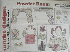 Sunrise Designs Powder Room Pattern Victorian Bathroom Decor