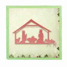 ULTIMATE CRAFTS Universal Impressions Dies SILENT NIGHT ULT157294 NATIVTY SCENE