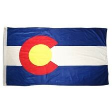 State of Colorado 4x6 Foot Flag Banner (150D Super Polyester)