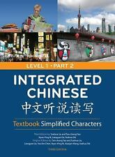 Integrated Chinese 1/2 Textbook Simplified Characters by Tao-chung Yao (2008,...
