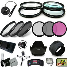 Ultimate 58mm FILTERS + Lens Hood ACCESSORIES KIT f/ Canon EOS 550D