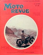 1932 MOTO REVUE  ROUE LIBRE ACHAT D'UNE MOTO PLANEURS A POUTRE SENS GIRATOIRE