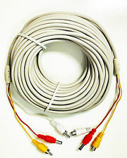 RCA Video Audio And Power Extension Cable 60 Feet Long W001AK