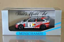 MINICHAMPS 430 948209 FORD ESCORT RED BULL AKROPOLIS 1994 VATANEN PONS CAR 9 nd