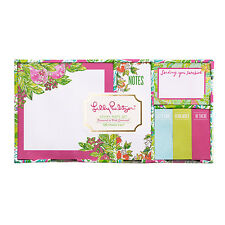 "LILLY PULITZER - Sticky Note Set - ""Pink Lemonade"""