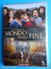 dvds mondo senza fine ken follett cynthia nixon tom weston-jones charlotte riley