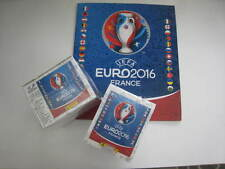 Euro France 2016 Panini 100 packs + empty Album , Total of 500 stickers NEW