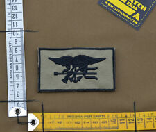 """Ricamata / Embroidered Patch """"Seal Insignia"""" Coyote Tan with VELCRO® brand hook"""