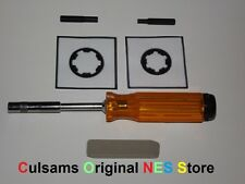3.8 mm & 4.5 mm Bit, Driver & Contact Cleaner for Nintendo SNES, NES & N64 GAMES