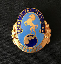 Horse of The Year Show Reception Pin Badge England