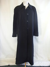 """Ladies Coat - Unbranded (made in Russia), size L 40"""" bust, black, mac - 2375"""