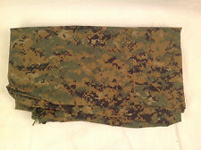 USMC ISSUE MARPAT WOODLAND REVERSIBLE FIELD TARP AS-IS MINOR HOLES