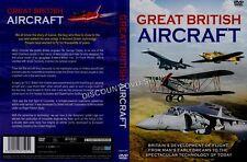 GREAT BRITISH AIRCRAFT. NEW DVD.
