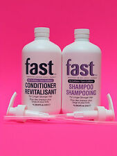 NISIM FAST (SULFATE-FREE) 2 X 1L HAIR GROWTH SHAMPOO & CONDITIONER (FREE SHIP'N)