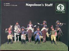 Waterloo 1815 Miniatures 1/32 NAPOLEON'S STAFF Figure Set